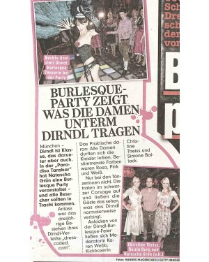 Bild: Dressburlesque Event