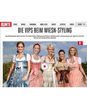 Bunte.de: Wiesn Special Styling