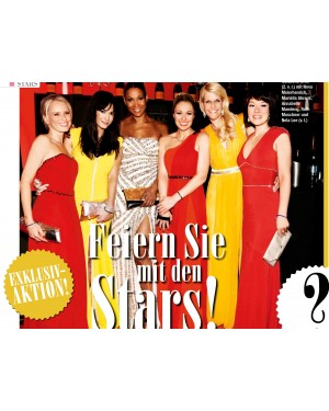 Gold Starmagazin: Dressvegas Party