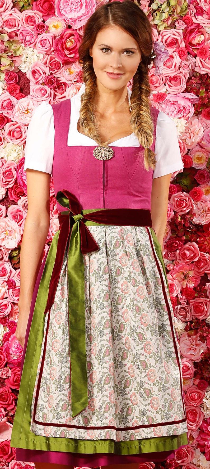 Dirndl Lena in Pink