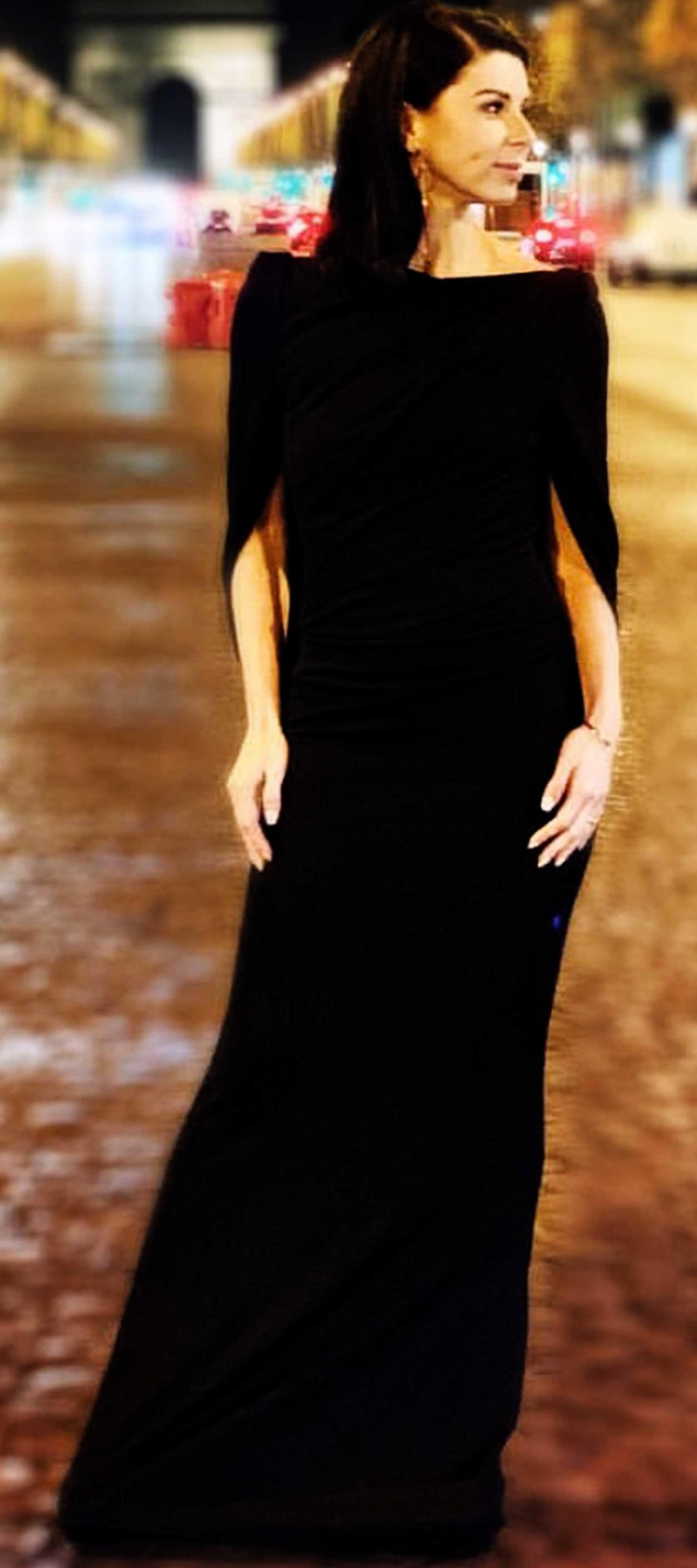 Katja´s Kleid mit Cape