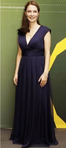 Jenny's Abendkleid in Blau