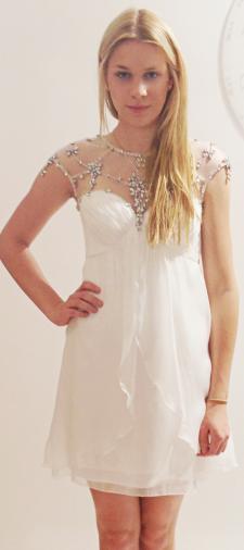 Luisa´s Minikleid in Weiss