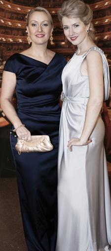 Hanna's Kleid in Silber