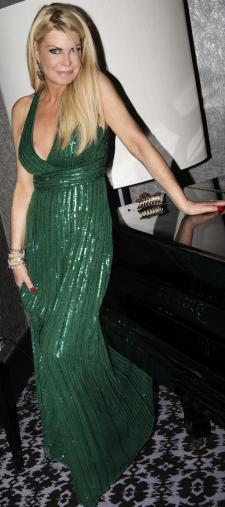 Daniela´s Abendkleid in Grün