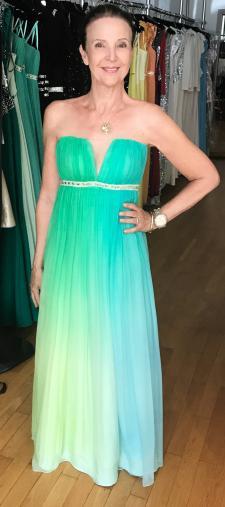 Cornelia´s Kleid mit Farbverlauf