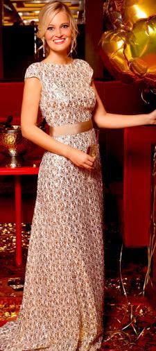 Lisa´s Kleid mit Schleife