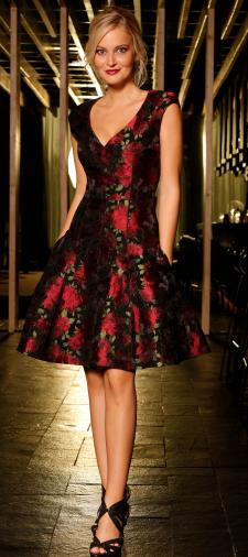 Lisa´s Kleid mit Rosen