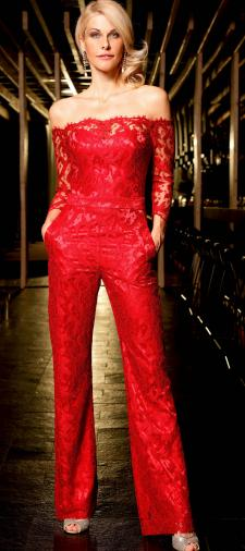 Natascha´s Jumpsuit in Rot