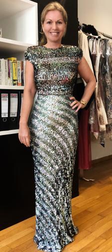 Marlene´s Kleid mit Streifenmuster