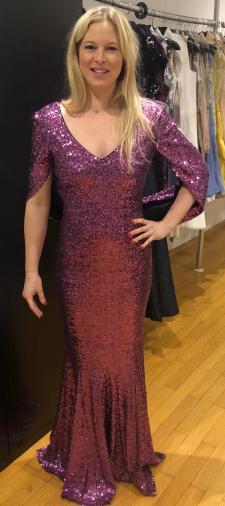 Nadine´s Kleid in Pink