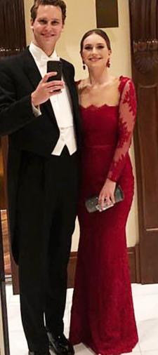 Annika´s Kleid in Rot