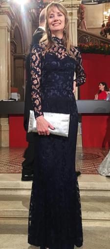 Iris Kleid mit Spitze