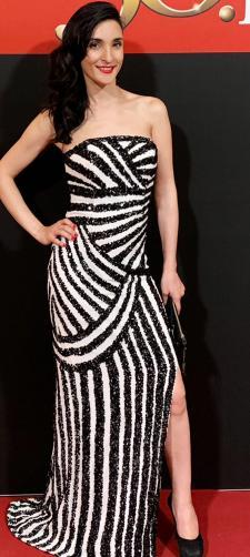 Sara´s Kleid mit Streifen
