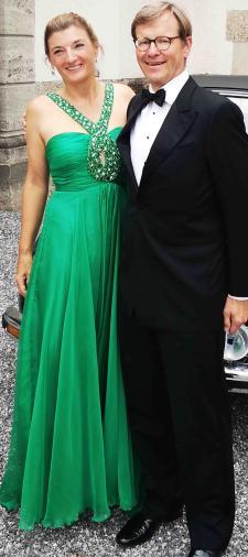 Dorothee´s Kleid in Grün