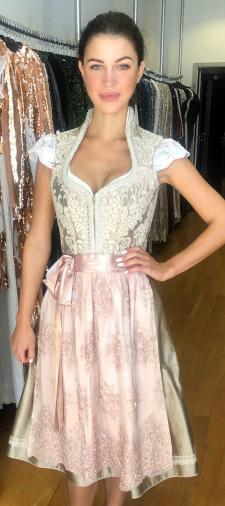 Veronika´s Dirndl in Beige