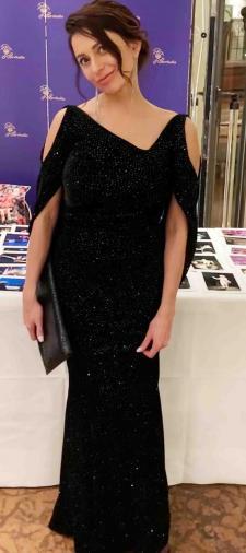 Irina´s Kleid in Schwarz