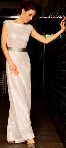 Jennifer´s Kleid in Weiss