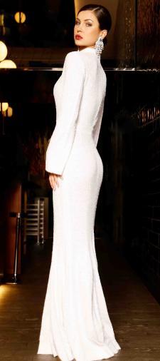 Veronika´s Kleid in Weiss