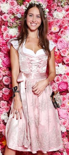 Julia´s rosa Dirndl