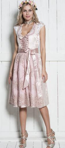 Olga´s Brautdirndl in Rosé