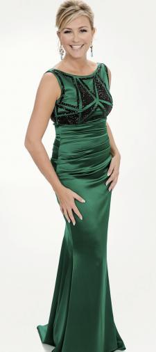 Charlotte´s Kleid in Grün