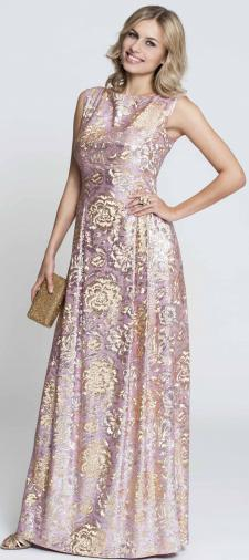 Olga´s Kleid mit Blumenprint