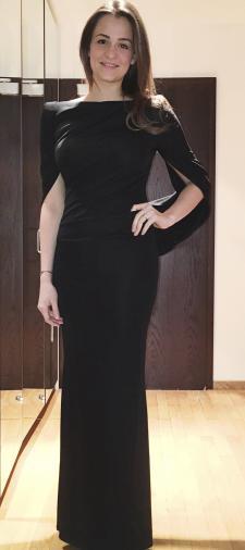 Emma´s schwarzes Abendkleid