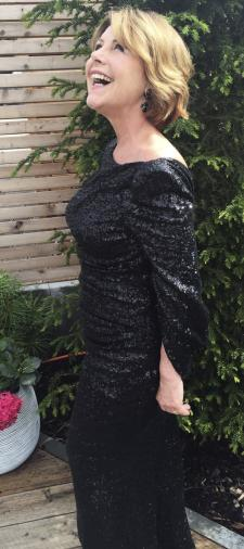 Brigitte´s Kleid mit Cape