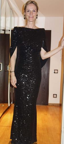 Daniela´s Kleid mit Cape