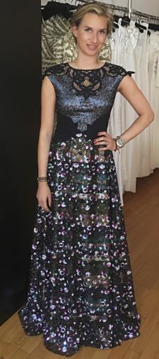Johanna´s Abendkleid mit Pailletten
