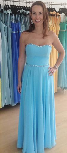 Andrea's Opernball Kleid