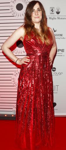 Susanne's Kleid in Rot