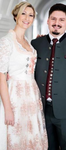 Andrea´s Hochzeitsdirndl