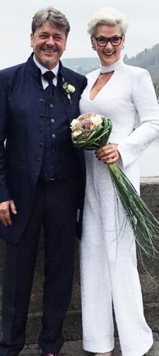 Heike´s Hochzeitsoutfit