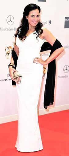 Birgit´s weißes Kleid