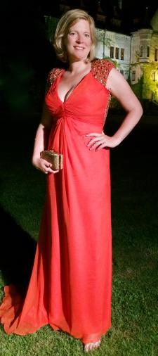 Daisy´s Kleid in Rot