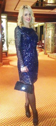 Grit´s kurzes Kleid mit langem Arm