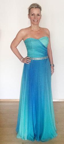 Nicole´s Kleid mit Farbverlauf