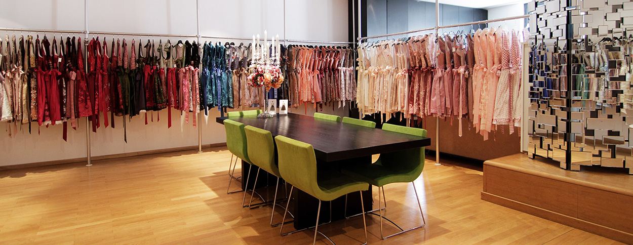 Dresscoded Showroom in München Schwabingen