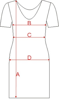 Size Chart Dresscoded